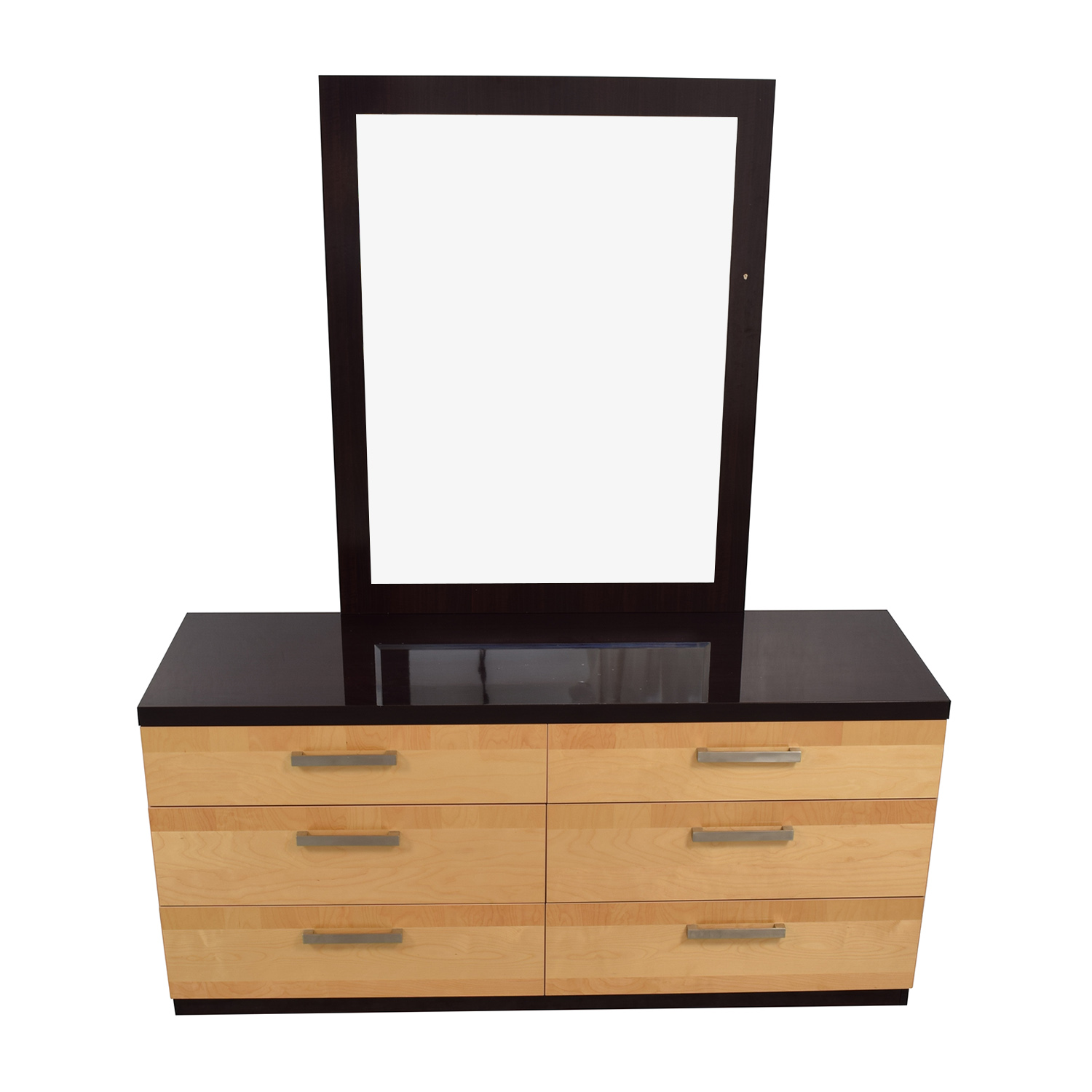 shop Design Group Italian Lacquered Six-Drawer Dresser with Mirror Design Group Sofas