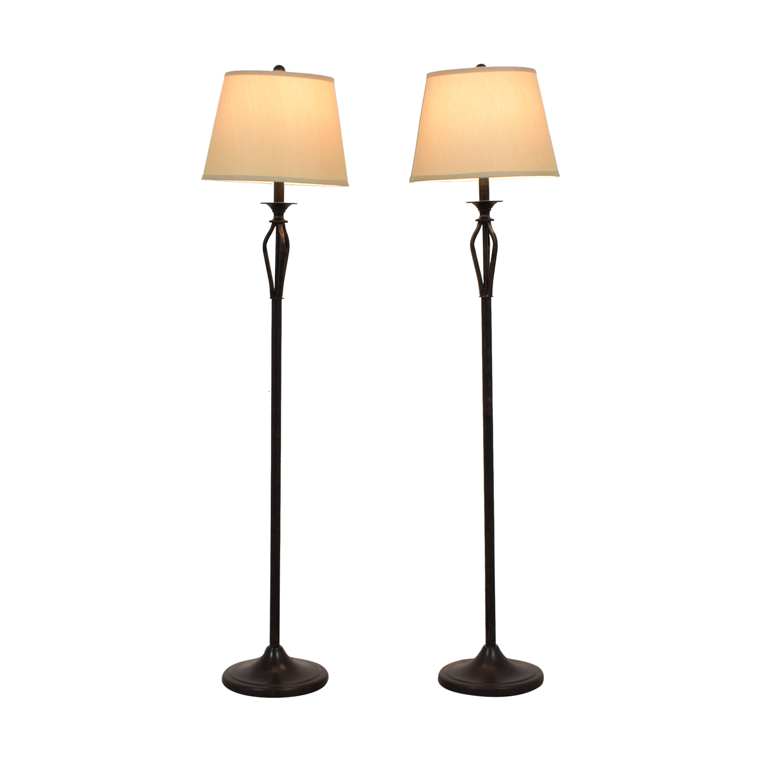 Brown Floor Lamps for sale