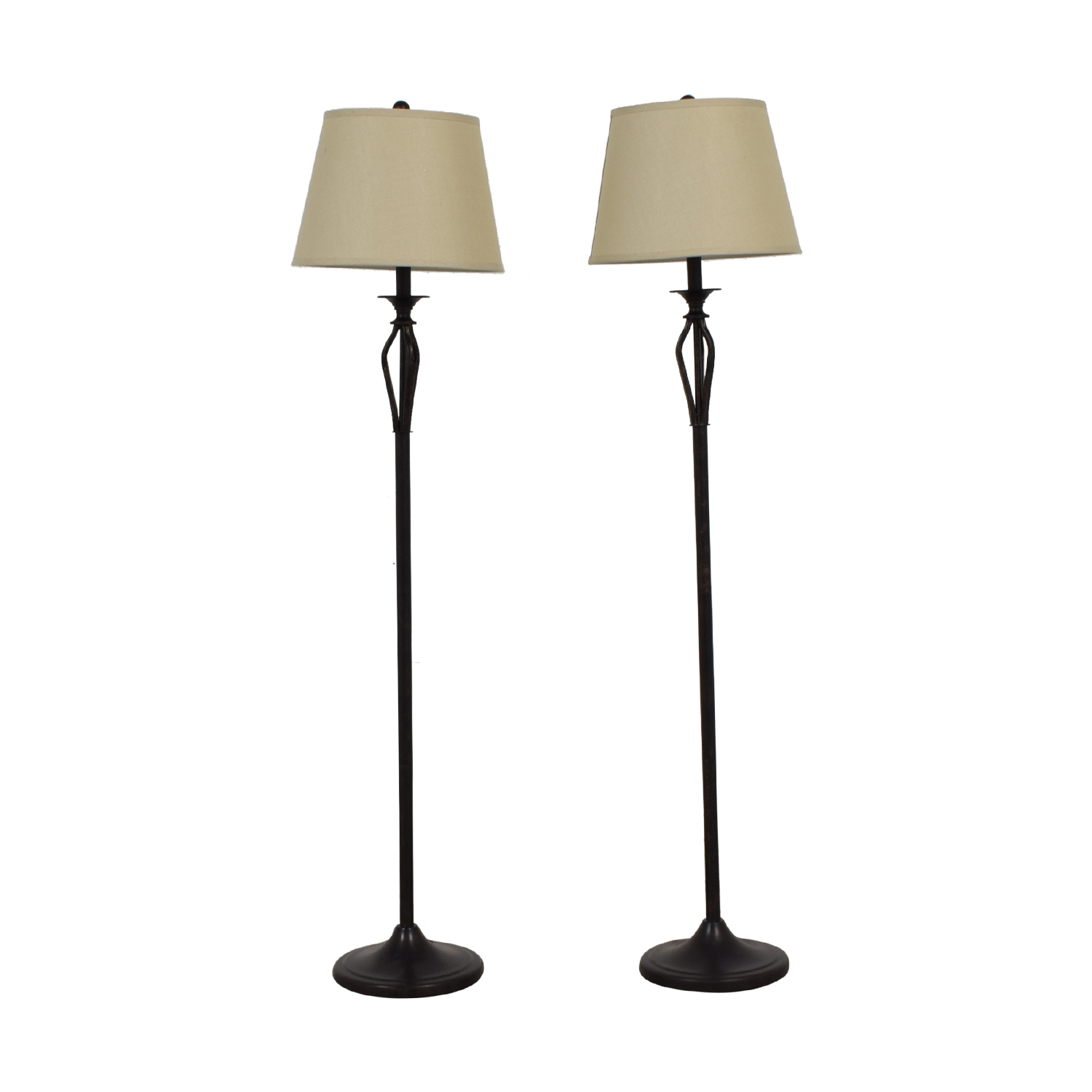 Brown Floor Lamps discount