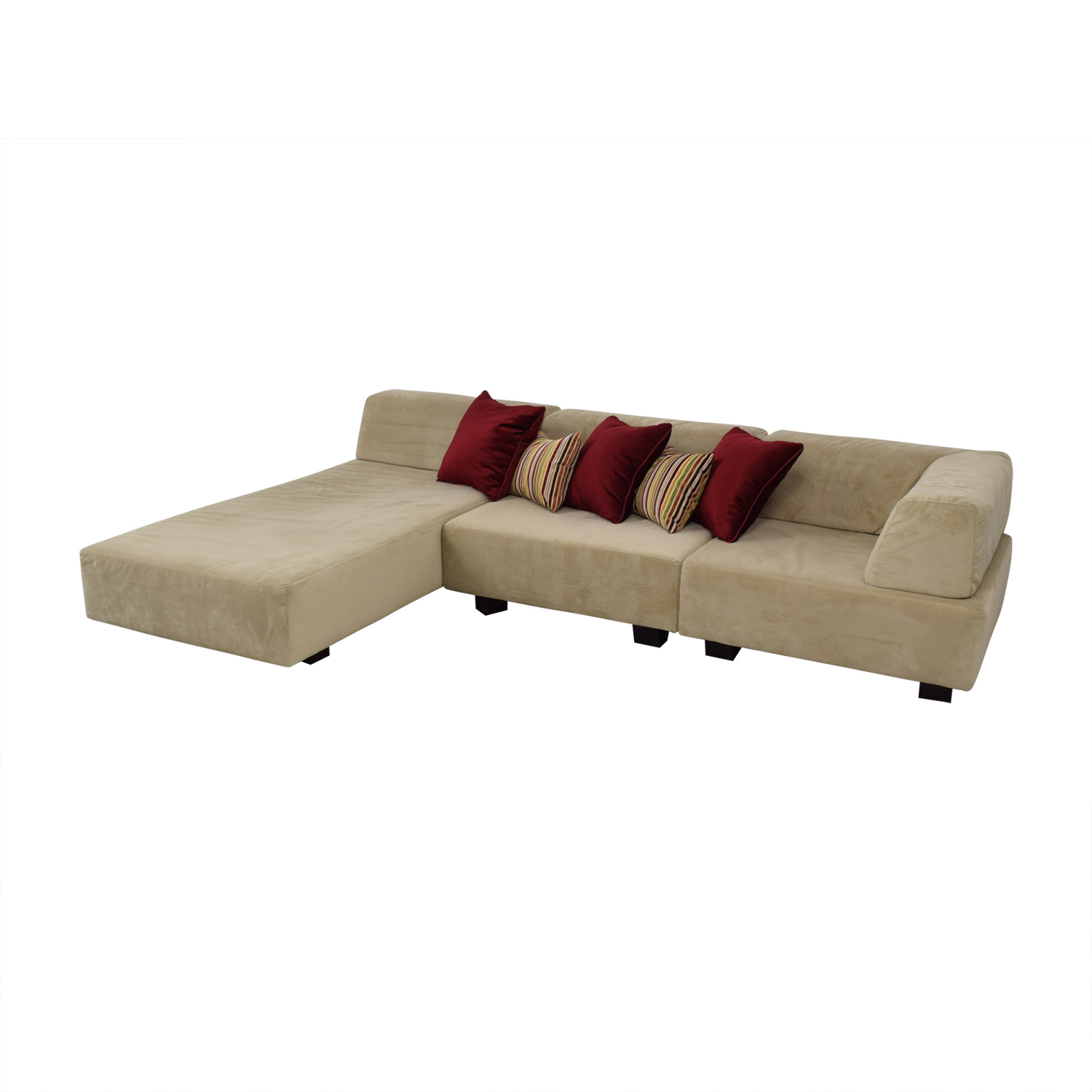 West Elm West Elm Tillary Beige Chaise Sectional discount