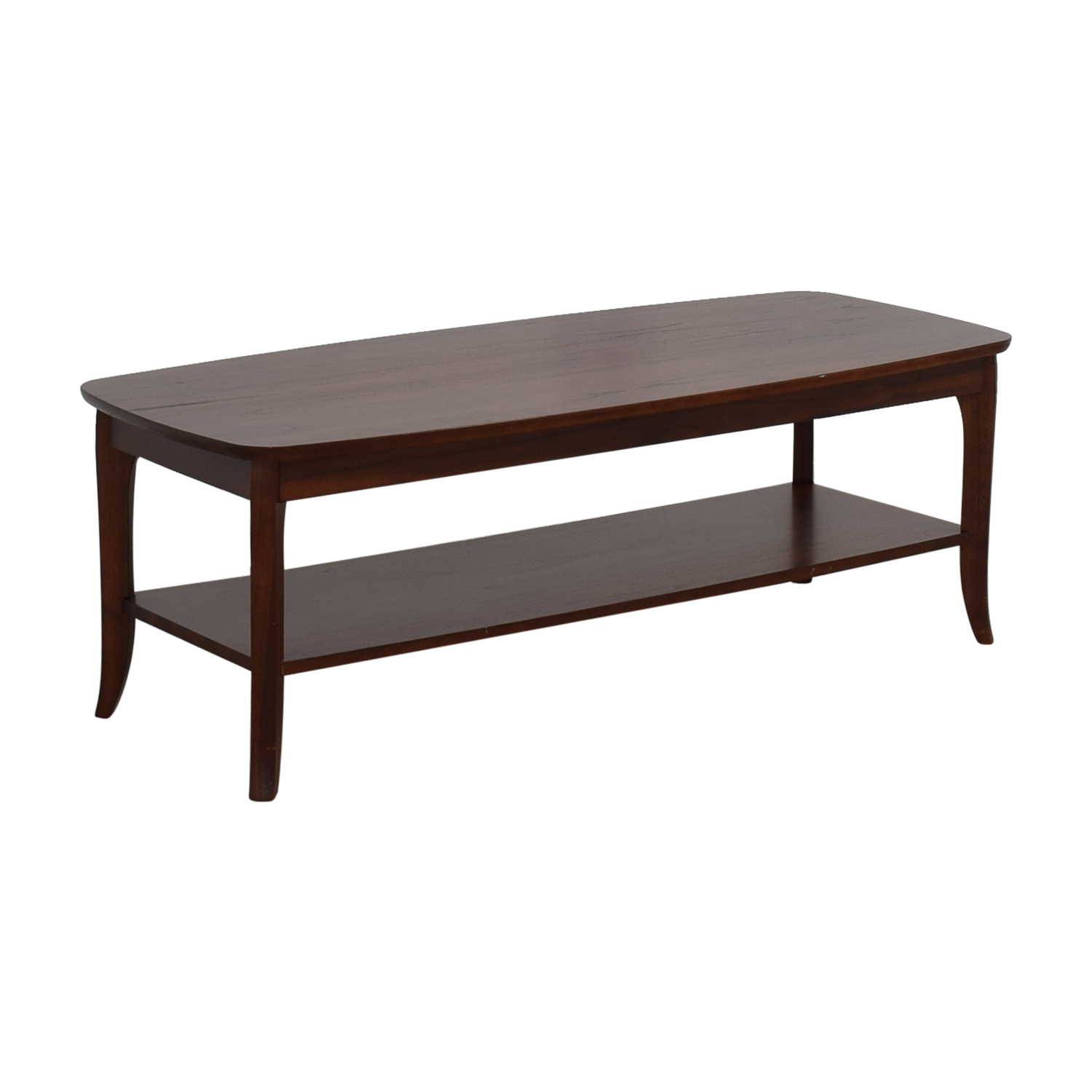 52% OFF   Pottery Barn Pottery Barn Chloe Wood Coffee Table / Tables