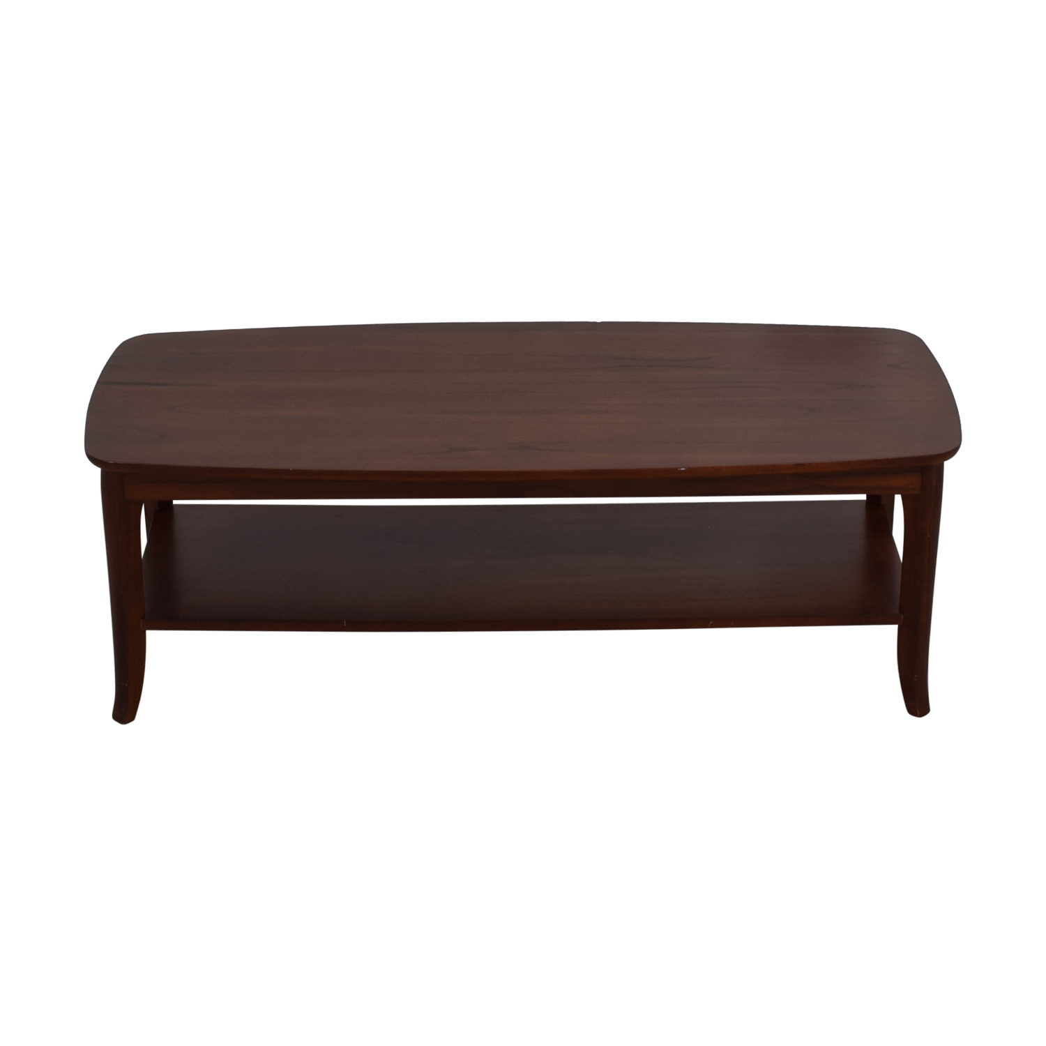 Pottery Barn Pottery Barn Chloe Wood Coffee Table Coffee Tables