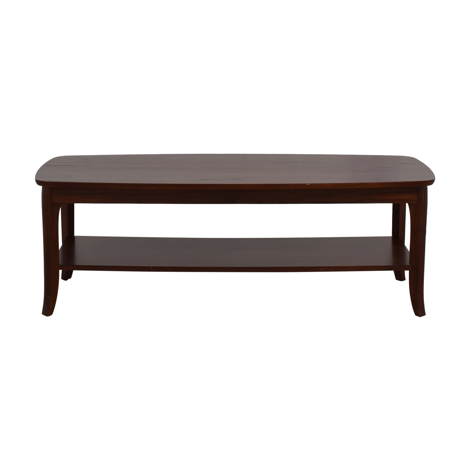 Brilliant 52 Off Pottery Barn Pottery Barn Chloe Wood Coffee Table Tables Machost Co Dining Chair Design Ideas Machostcouk