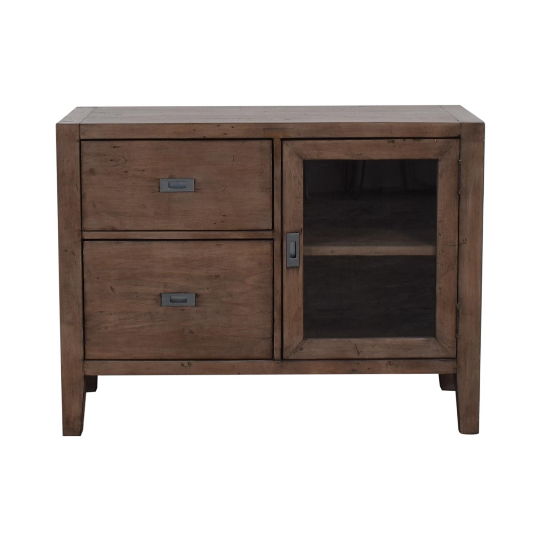 buy Crate & Barrel Morris Credenza Crate & Barrel Storage