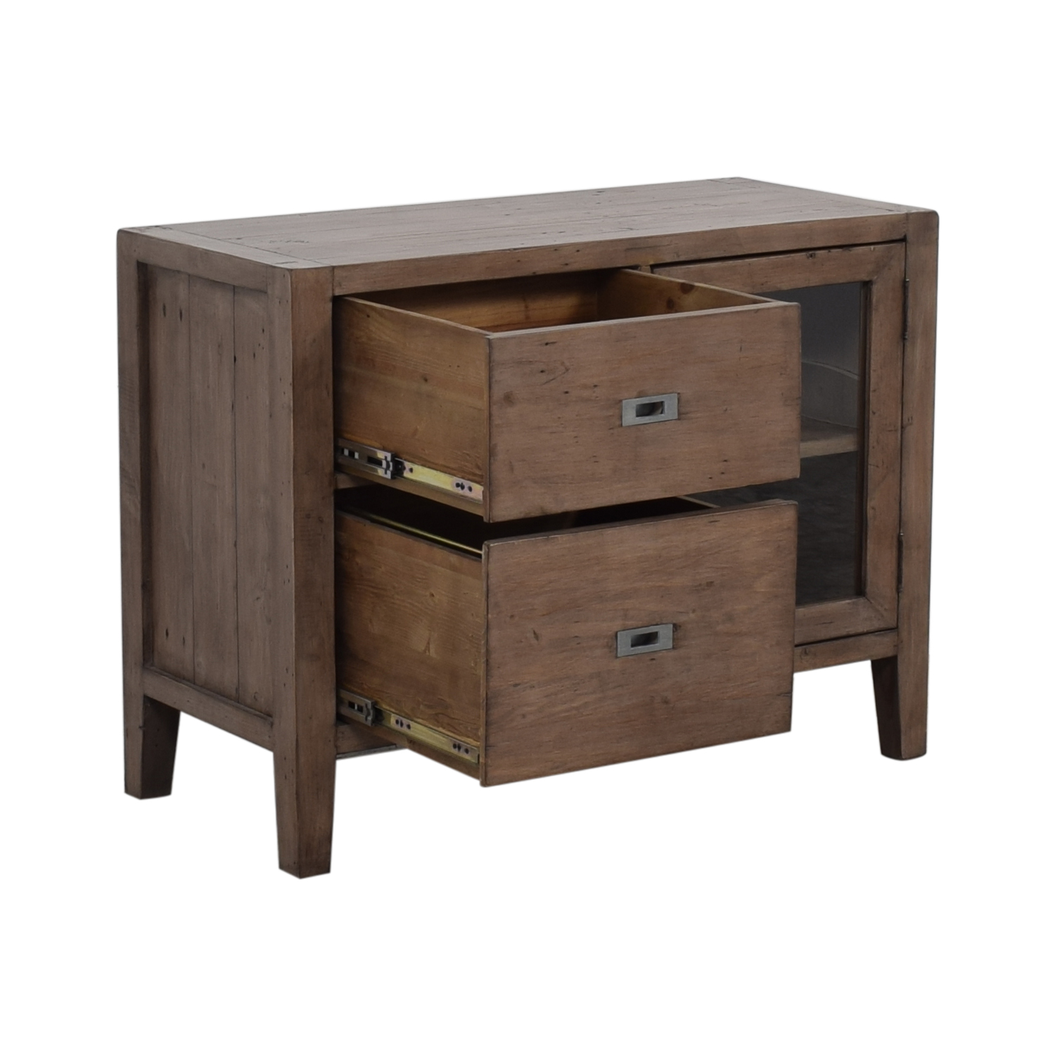 Crate Barrel Morris Credenza Cabinets Sideboards