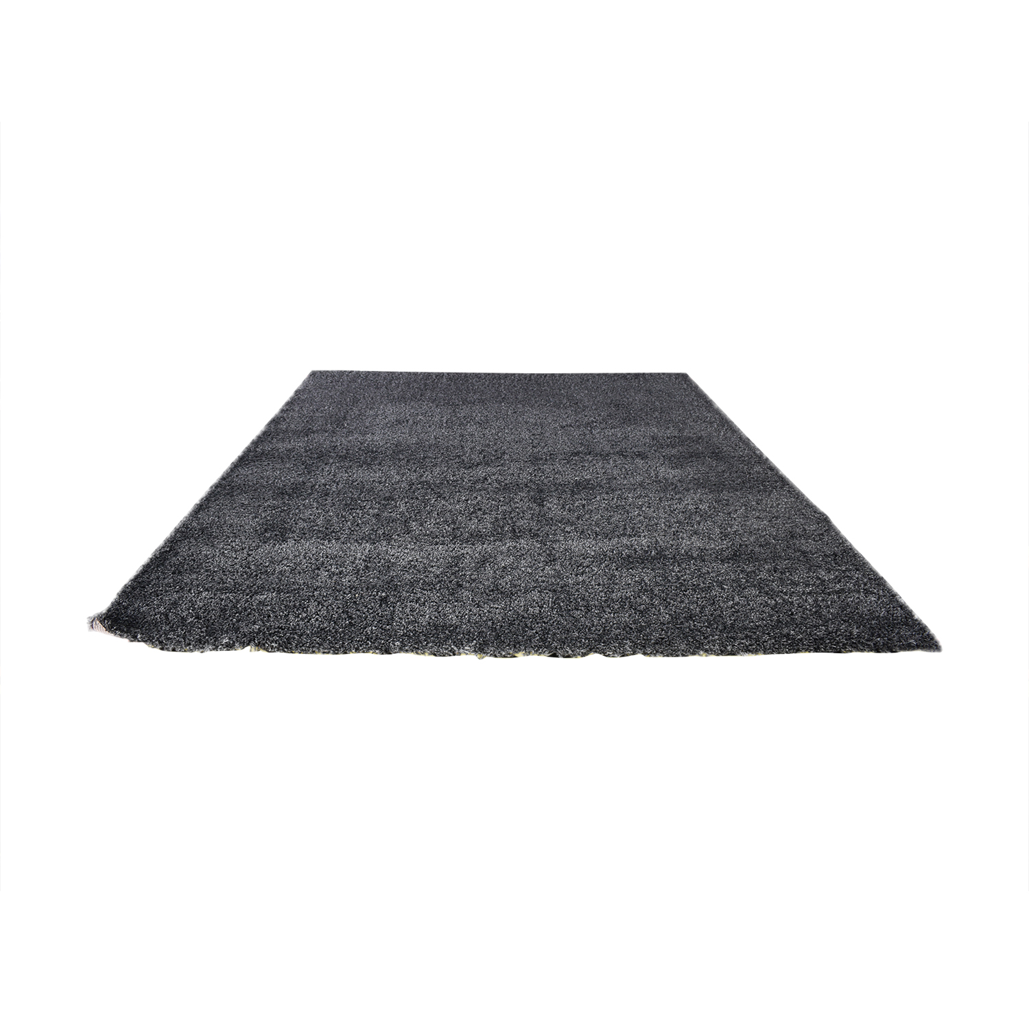 Crate & Barrel Crate & Barrel Black Wool Rug nj