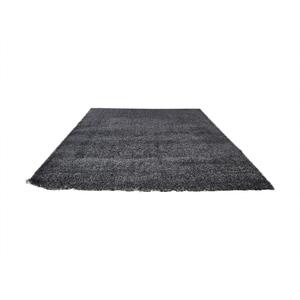 Crate & Barrel Black Wool Rug sale
