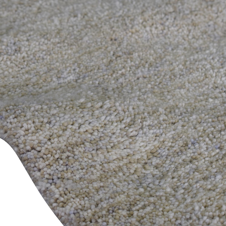 buy Crate & Barrel Crate & Barrel White Wool Rug online