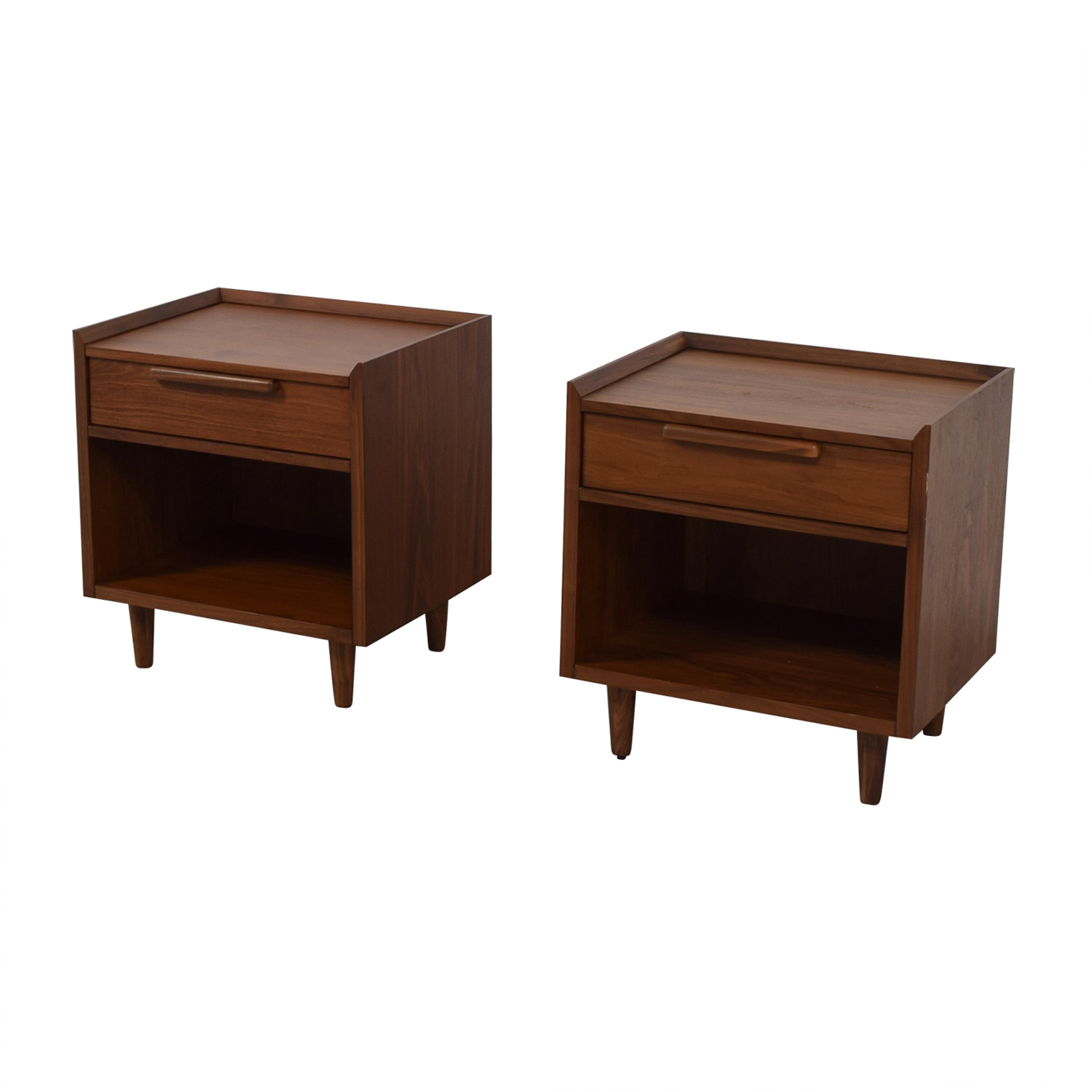 Crate & Barrel Crate & Barrel Single Drawer Nightstands nj