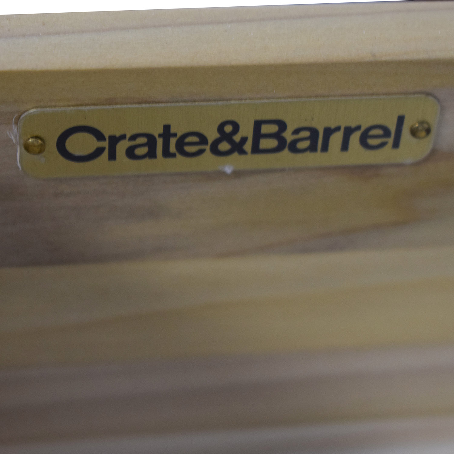 Crate & Barrel Crate & Barrel Single Drawer Nightstands discount