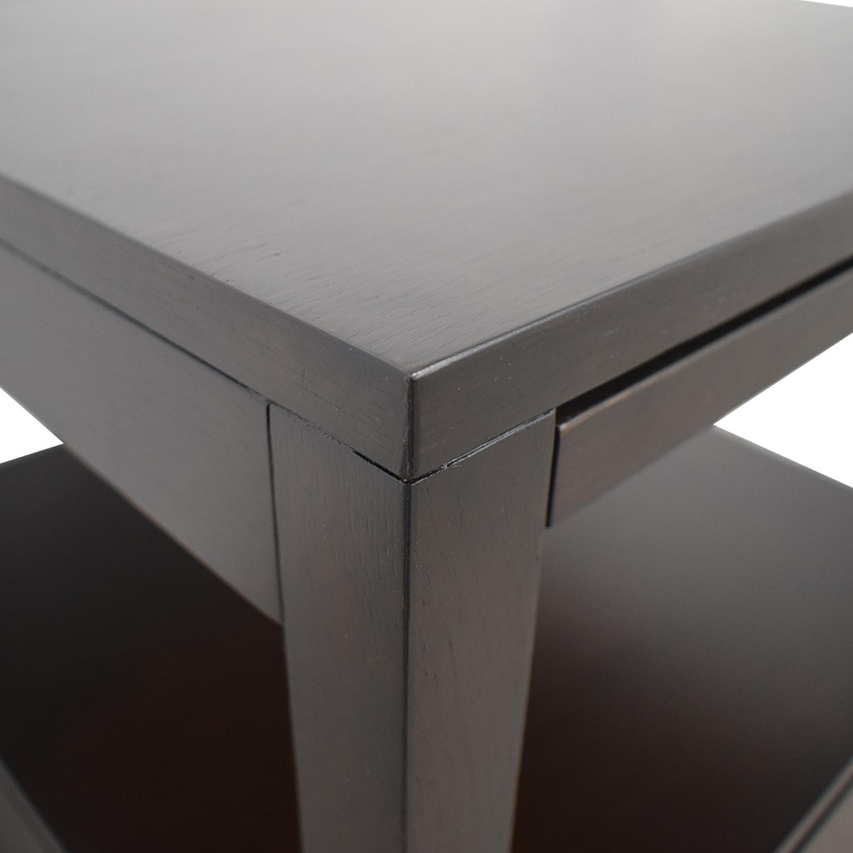 Crate & Barrel Crate & Barrel Wood End Table discount