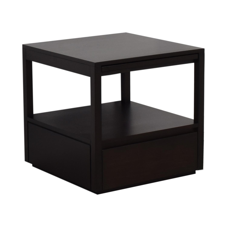Crate & Barrel Crate & Barrel Wood End Table Tables