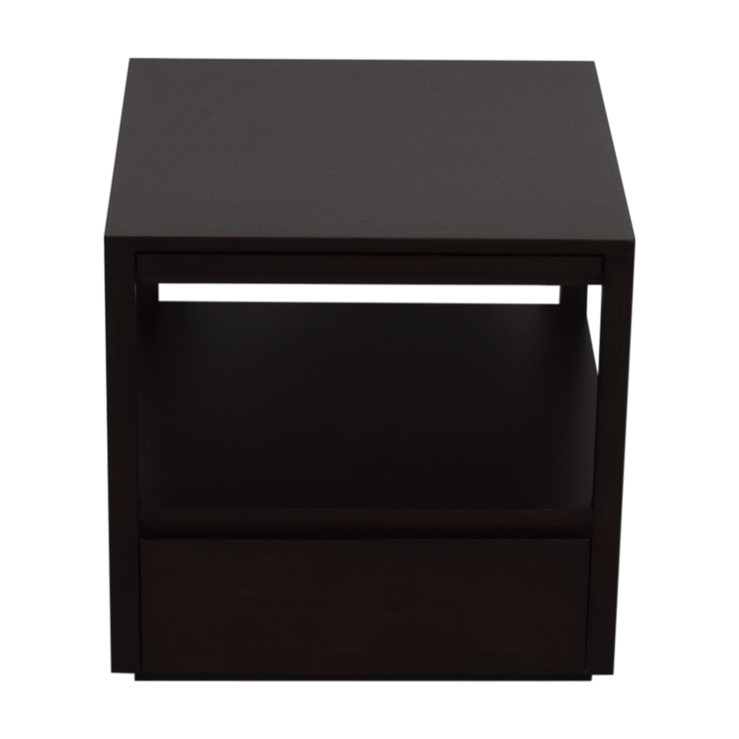 Crate & Barrel Crate & Barrel Wood End Table for sale