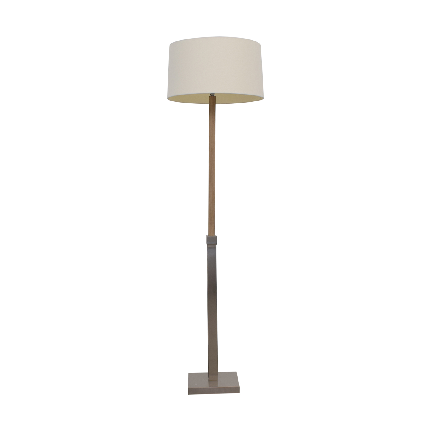 Crate & Barrel Chrome Floor Lamp Crate & Barrel