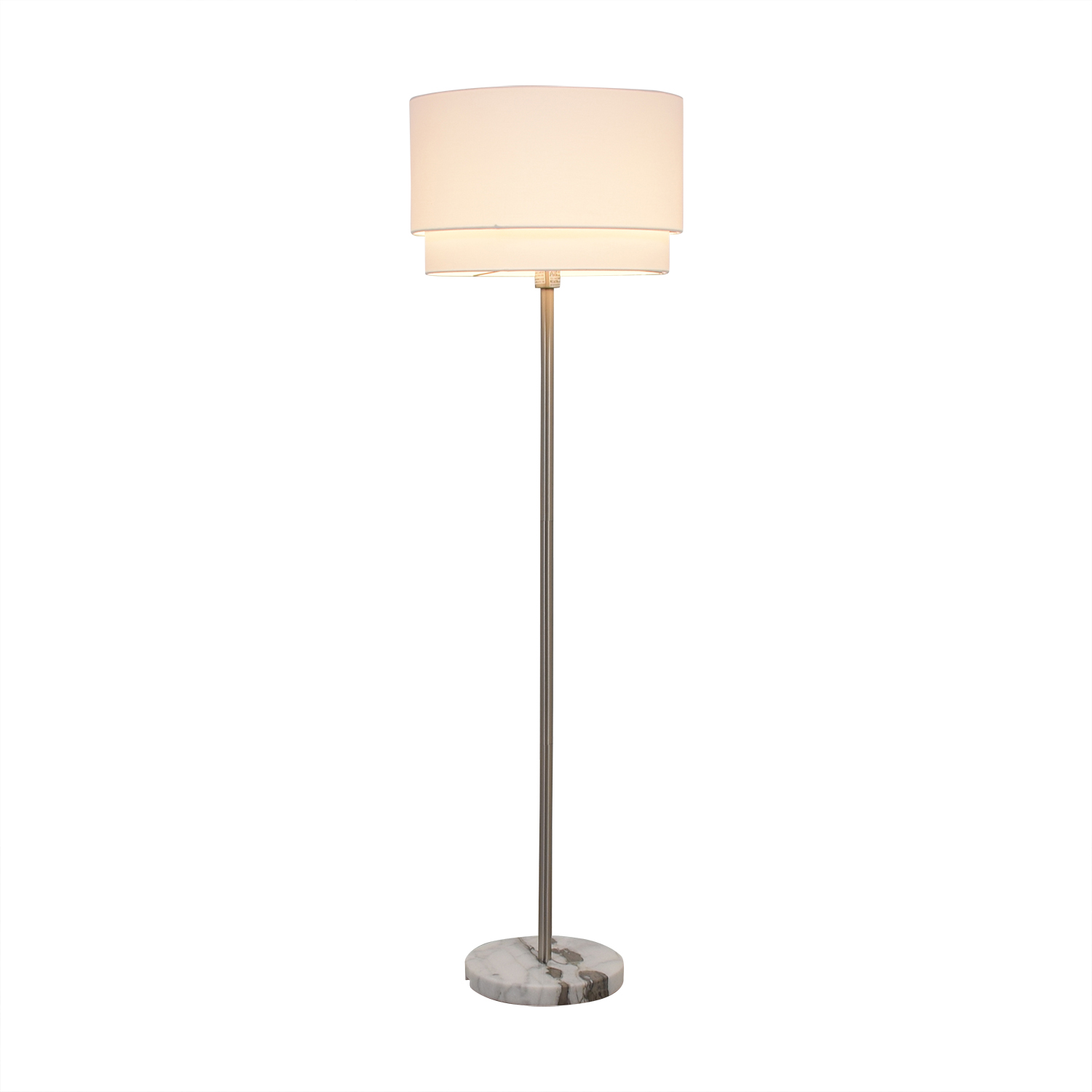 shop Crate & Barrel Meryl Vertical Floor Lamp Crate & Barrel Lamps