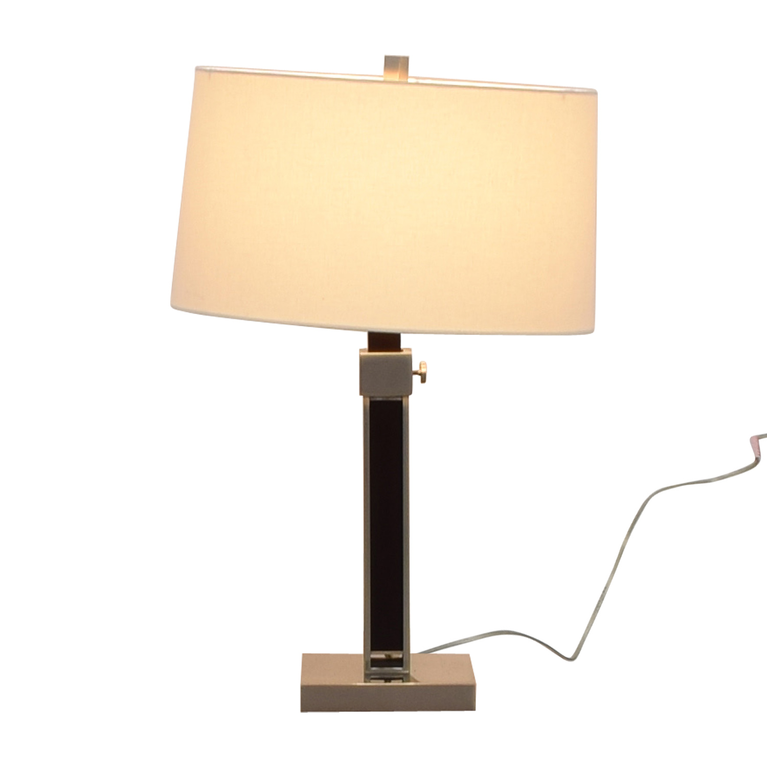 Crate & Barrel Crate & Barrel Denley Table Lamp used