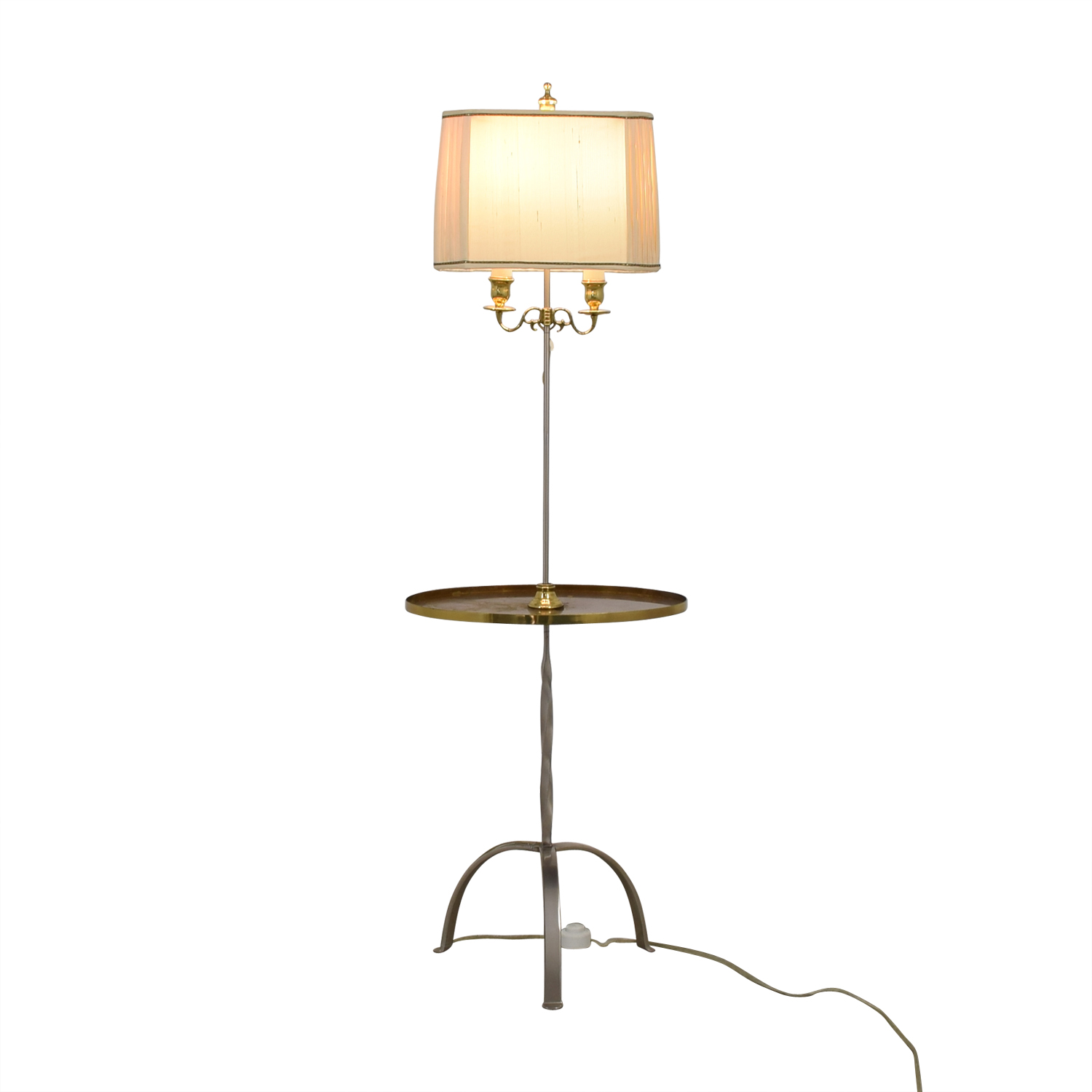 Standing Lamp with Center Table