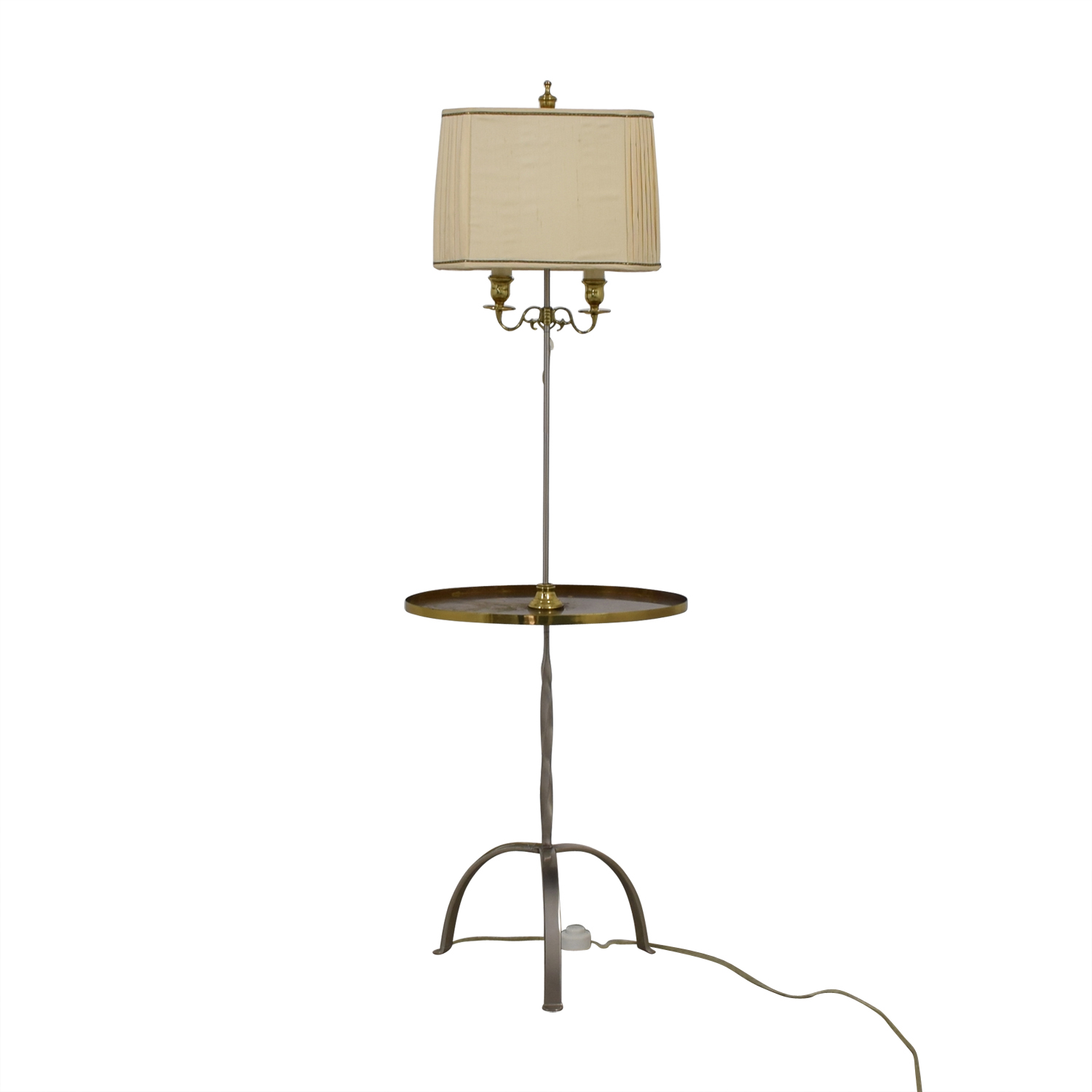 Standing Lamp with Center Table nyc