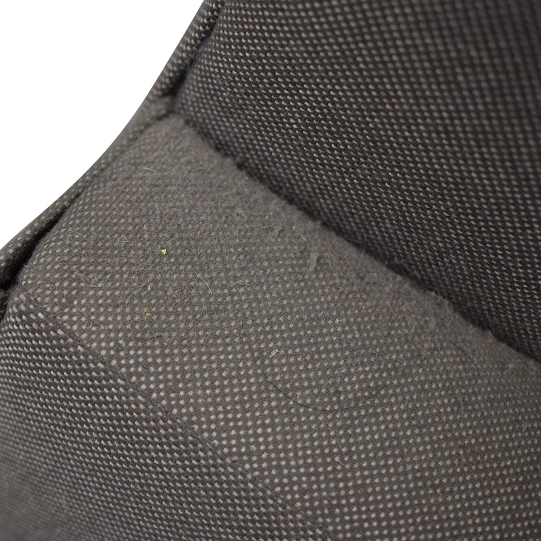 buy Room & Board Room & Board Jasper Grey Chaise Sectional online
