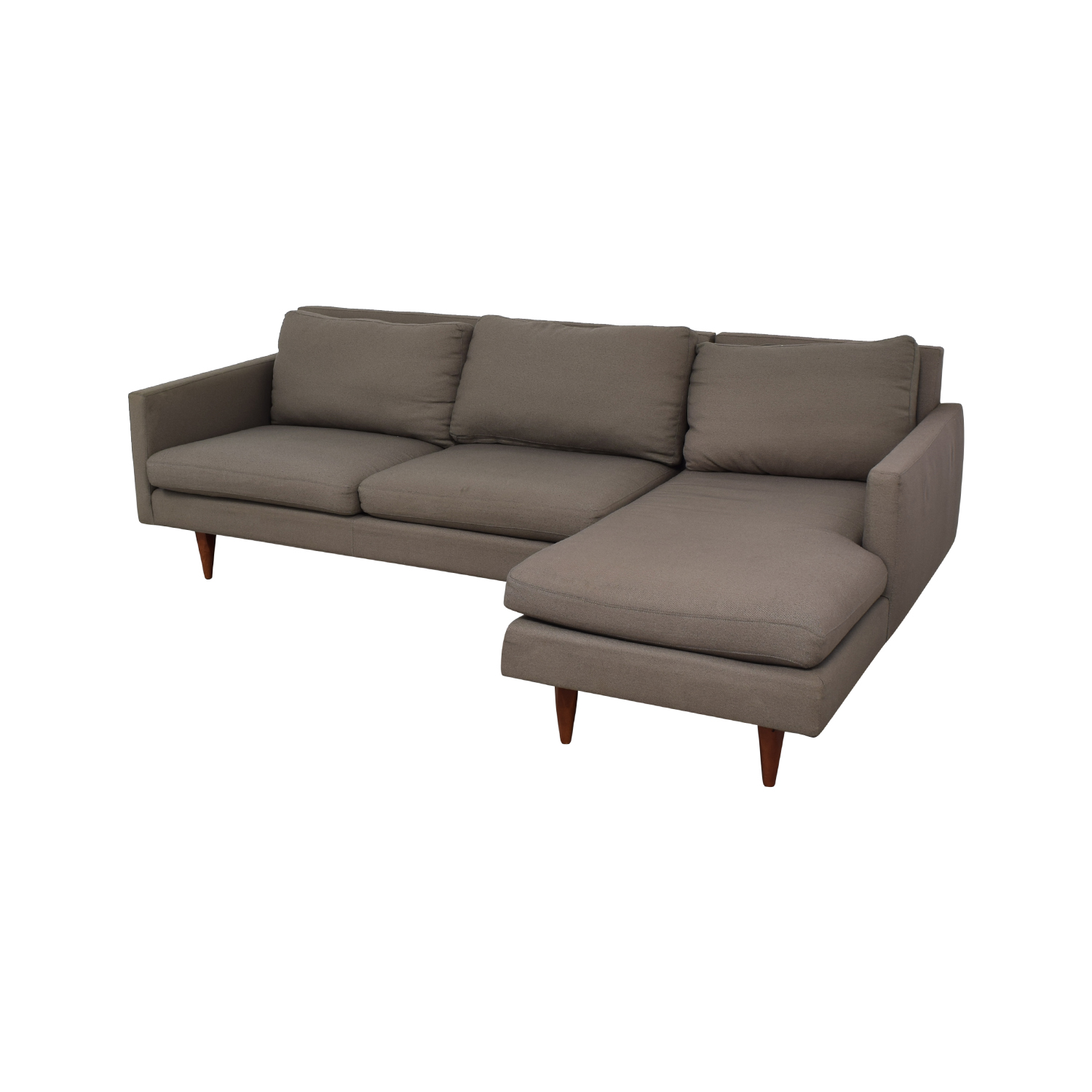 Room & Board Room & Board Jasper Grey Chaise Sectional second hand