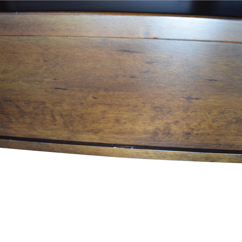 shop Pottery Barn Sumatra Wood King Platform Bed with Storage Pottery Barn Bed Frames