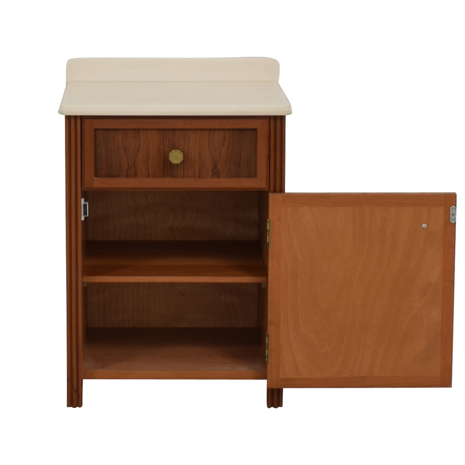 . 90  OFF   Single Drawer with Storage Cabinet   Tables