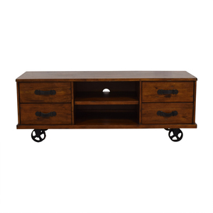 A & G Merch A & G Merch Wood Four-Drawer Media Console second hand