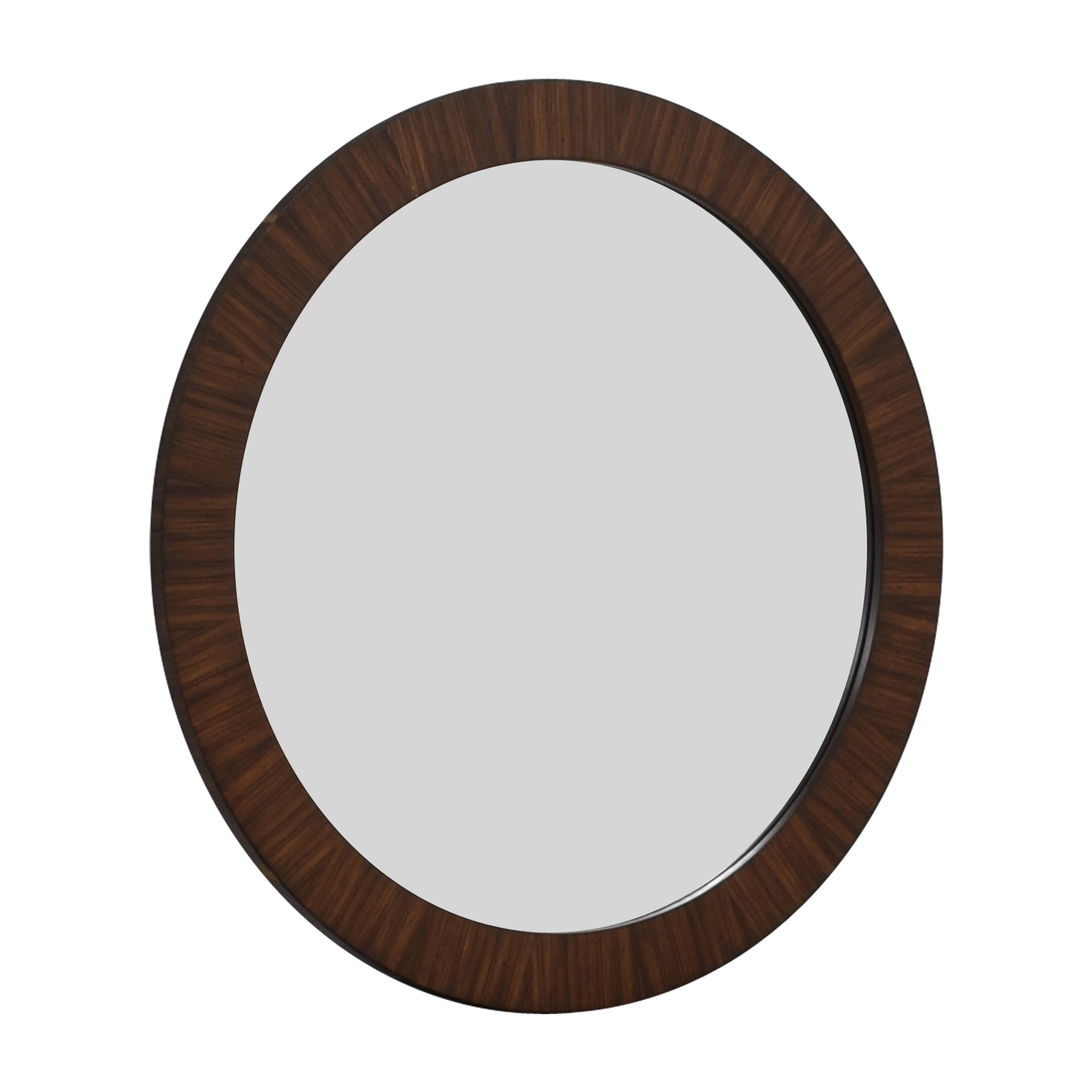 Uttermost Wood Circular Wall Mirror sale
