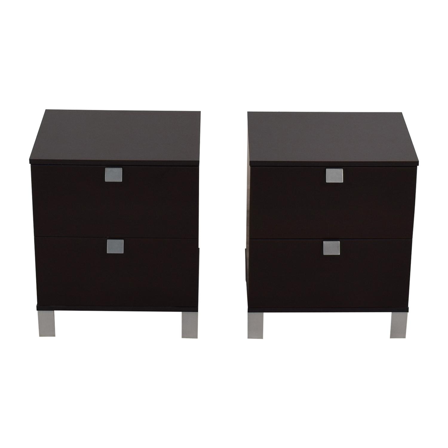South Shore South Shore Two Drawer End Tables used