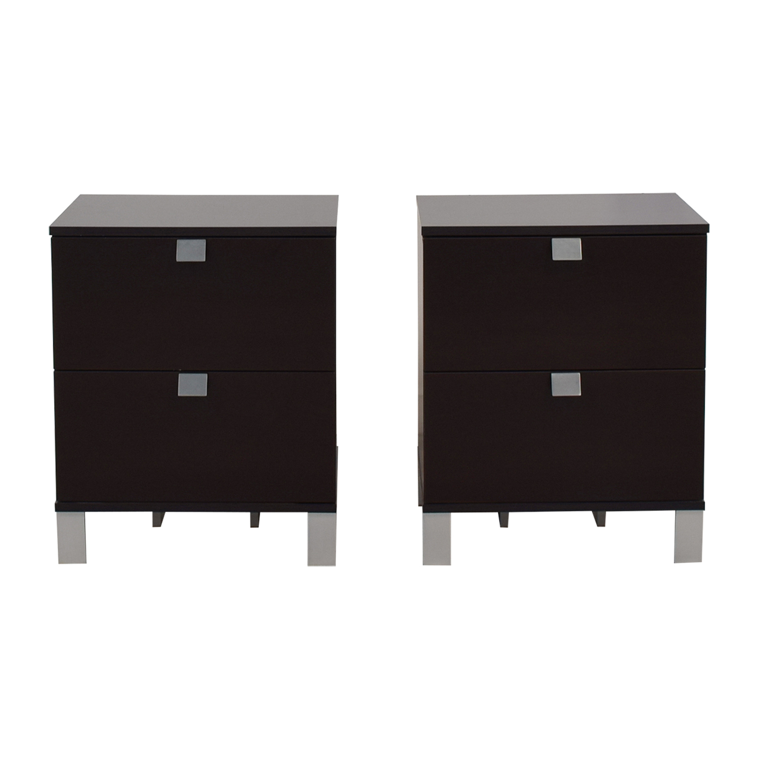 South Shore South Shore Two Drawer End Tables on sale