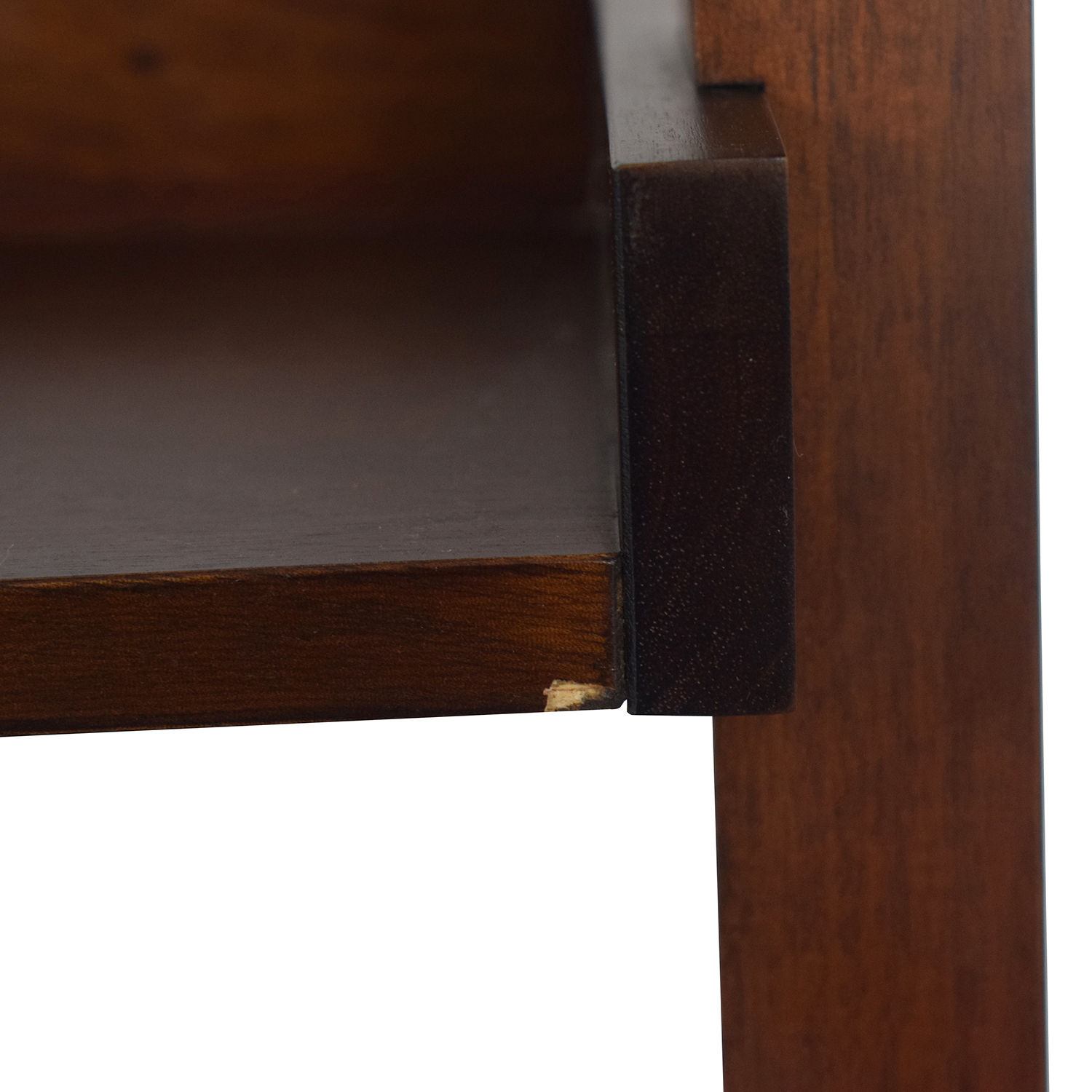 Crate & Barrel Crate & Barrel Wood Leaning Bookcase price