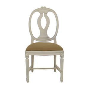 Swedish Blond Country Distressed Cream Chair discount