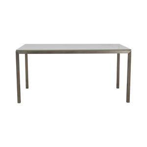 Room & Board Room & Board Portica Glass and Chrome Desk price