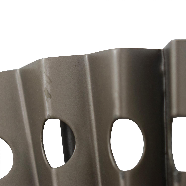 CB2 Folded Metal Wall Mirror / Decor