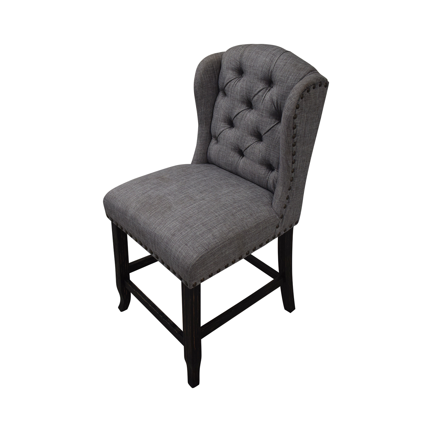 buy Furniture of America Grey Tufted Counter Stools Furniture of America