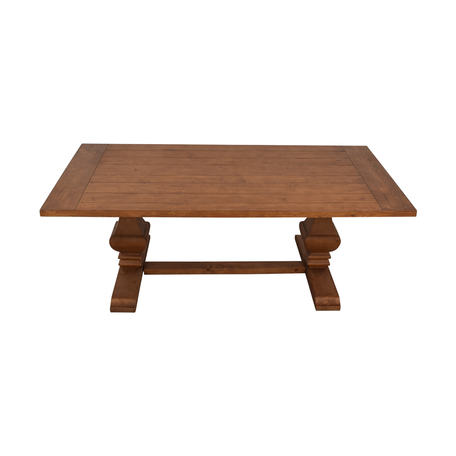 Brunhild Wood Dining Table / Sofas