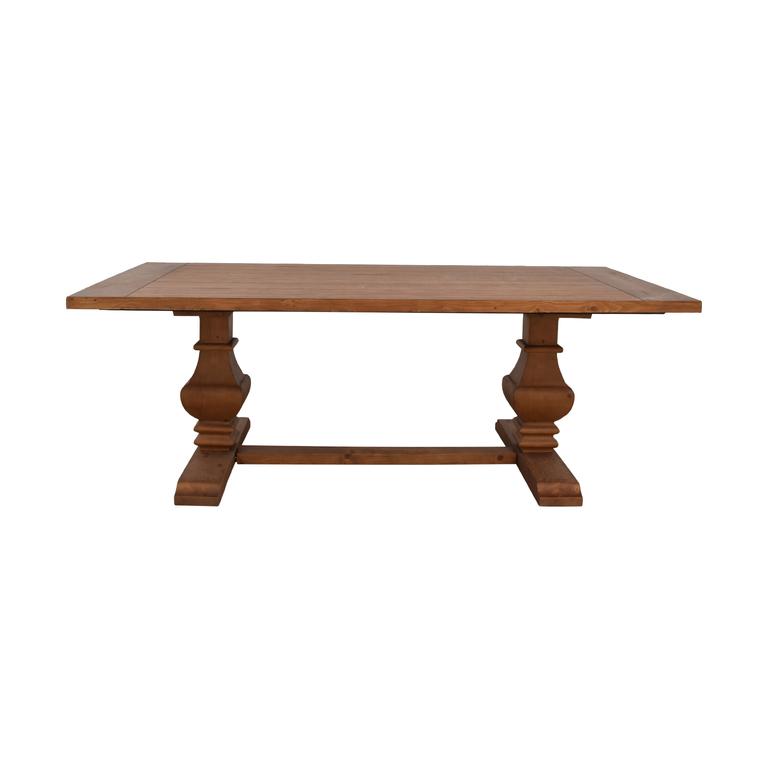 Brunhild Brunhild Wood Dining Table dimensions