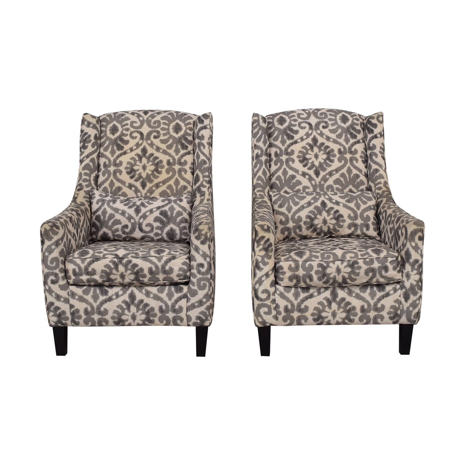 Ashley Furniture Ashley Furniture Grey and White Accent Chairs price