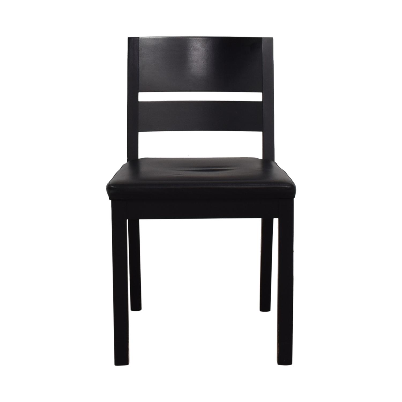 shop Room & Board Black Chair Room & Board