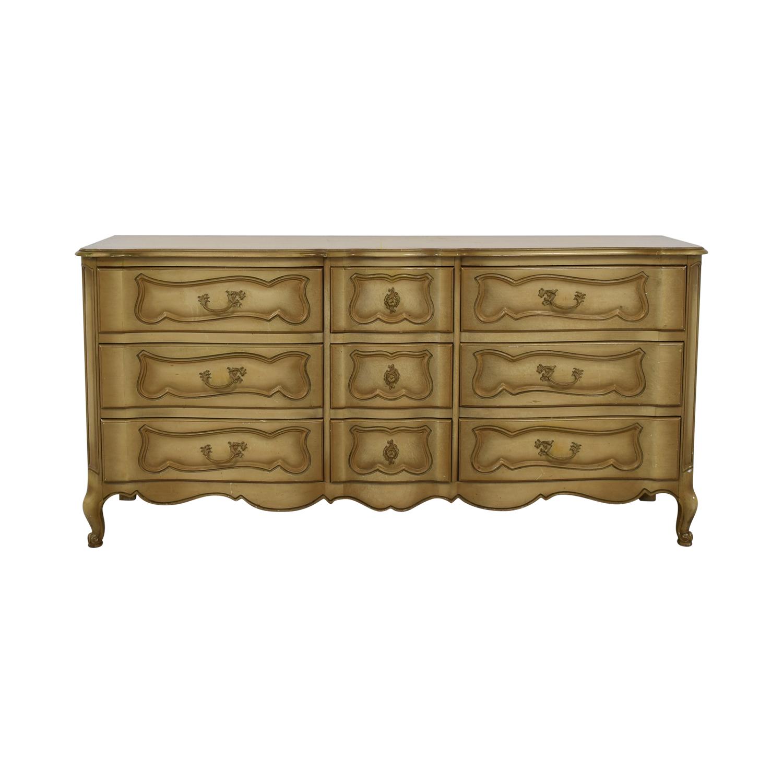 John Cameron Furniture John Cameron Furniture Beige Carved Wood None-Drawer Dresser price