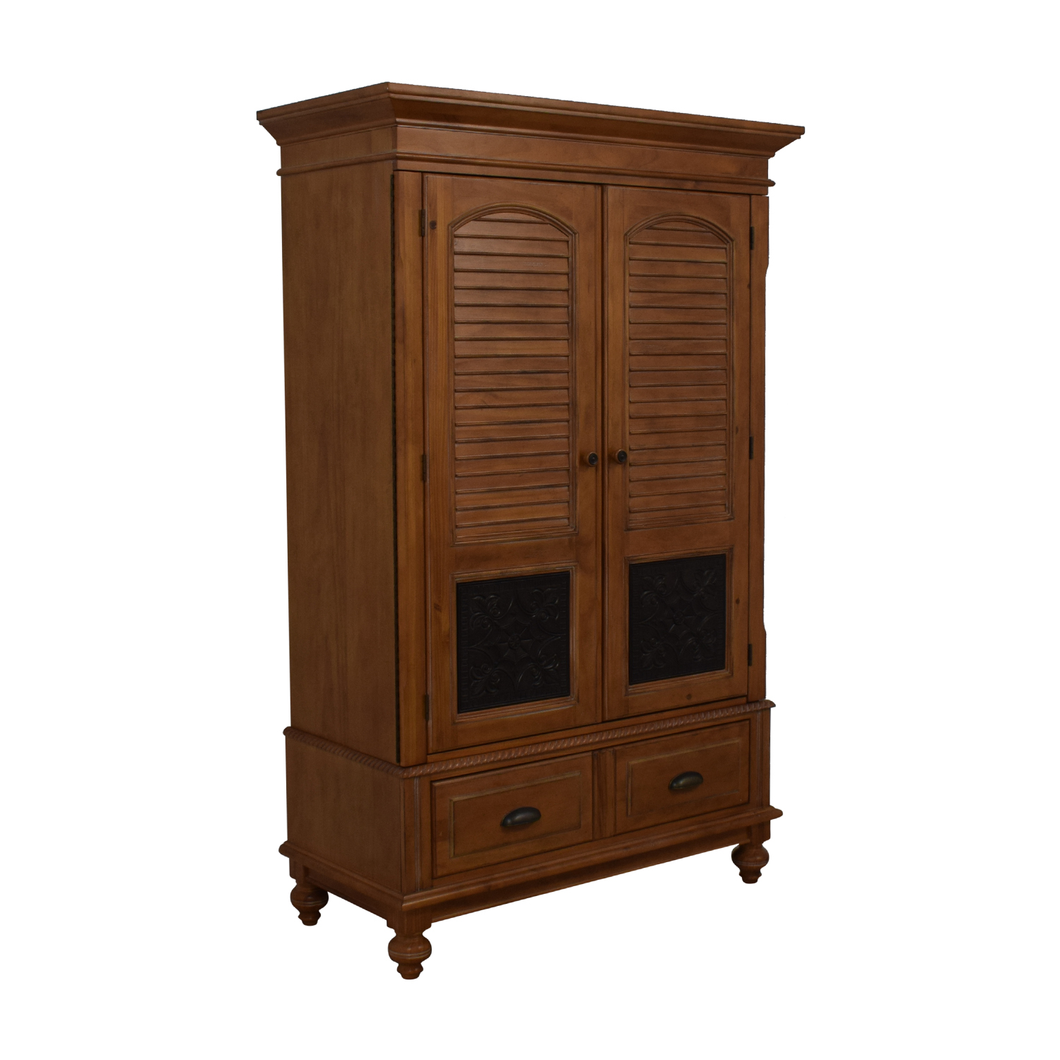 A.R.T. Furniture A.R.T. Furniture Four-Drawer Wood Wardrobe Armoire for sale