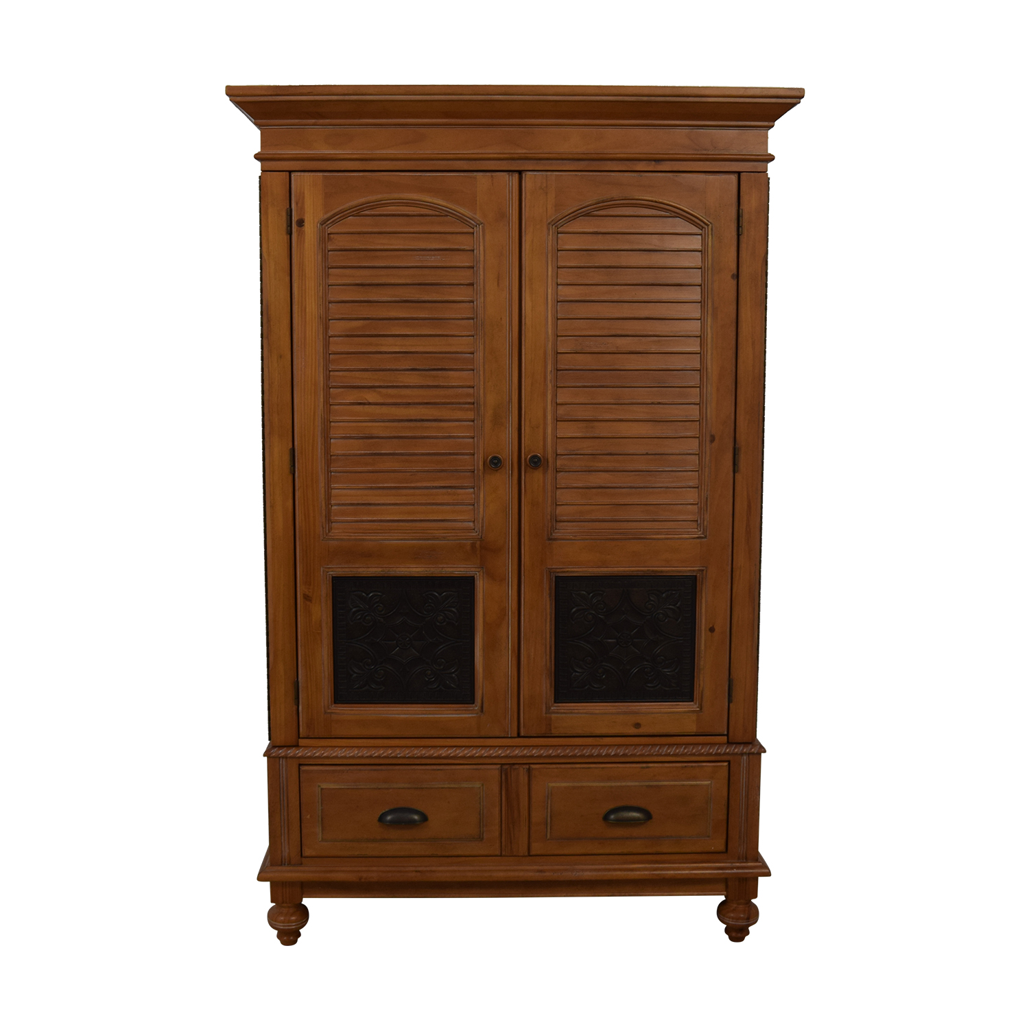 A.R.T. Furniture A.R.T. Furniture Four-Drawer Wood Wardrobe Armoire nj