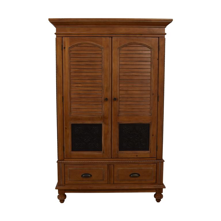 shop A.R.T. Furniture Four-Drawer Wood Wardrobe Armoire A.R.T. Furniture Storage