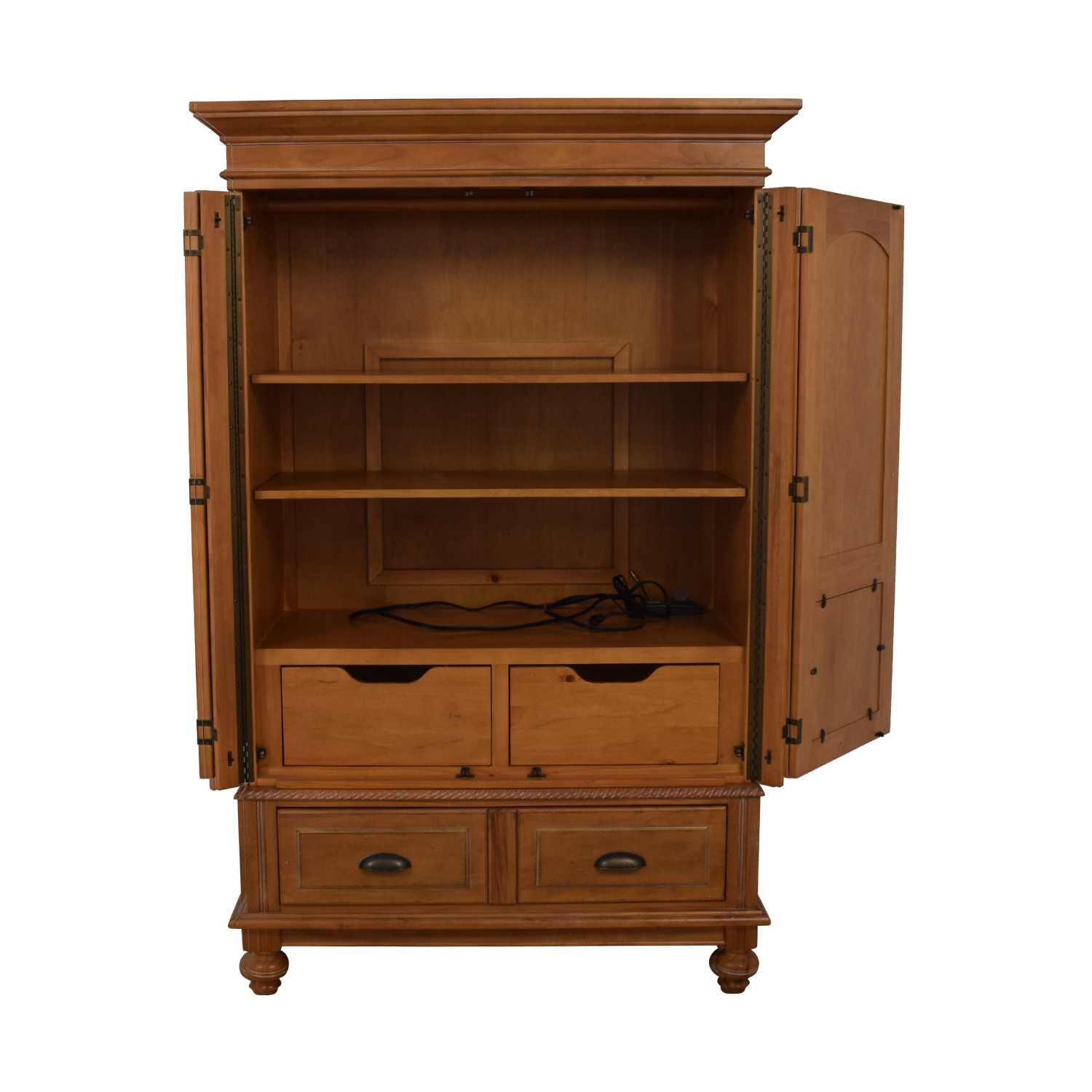 A.R.T. Furniture A.R.T. Furniture Four-Drawer Wood Wardrobe Armoire dimensions