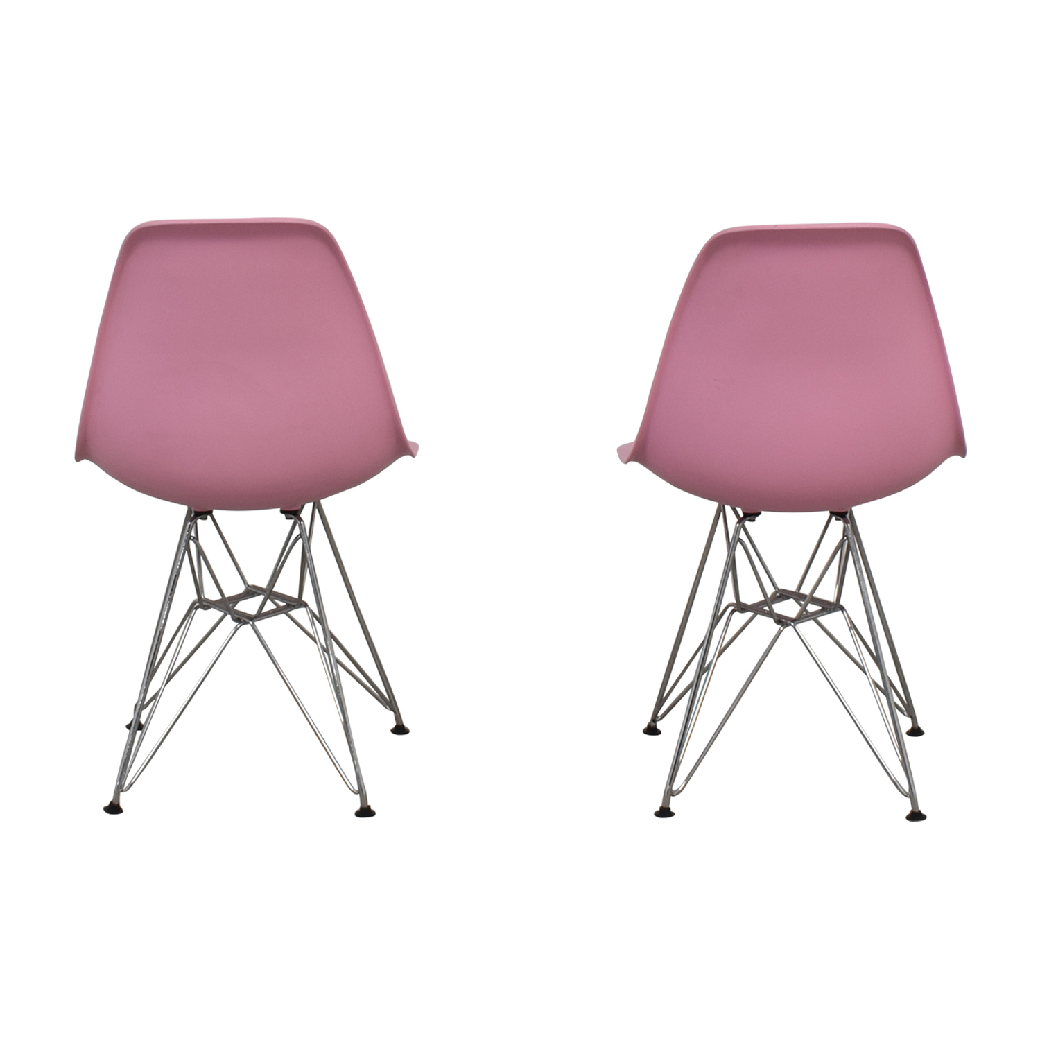 Mid-Century Light Pink Chairs on sale