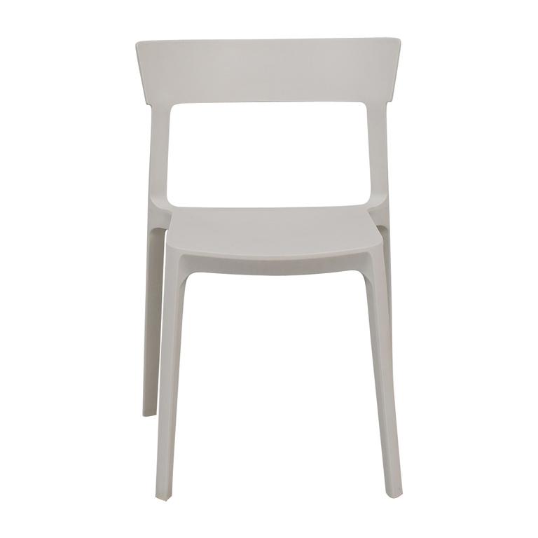 buy Calligaris Skin White Chair Calligaris