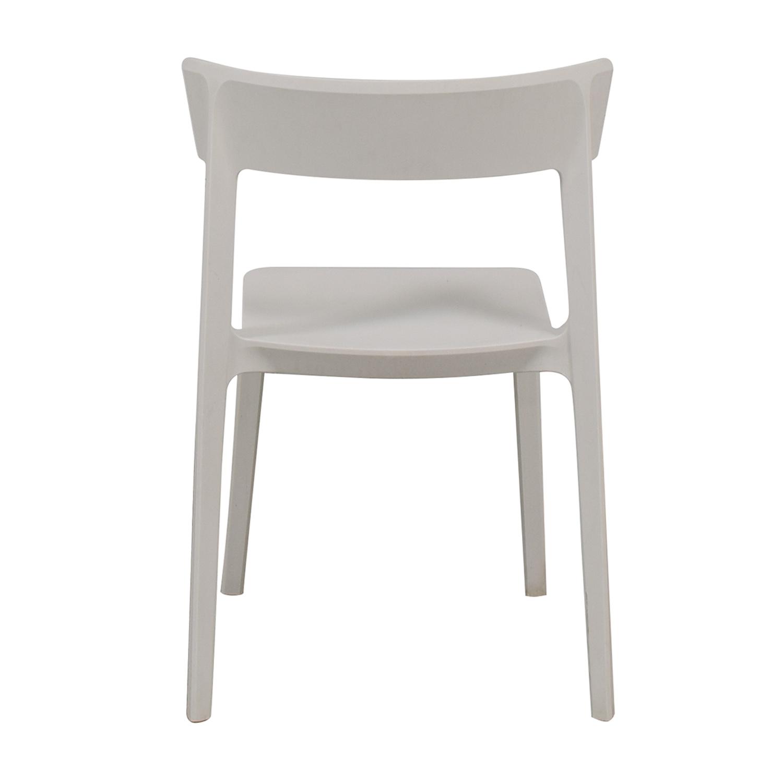 Calligaris Calligairs Skin White Chair discount