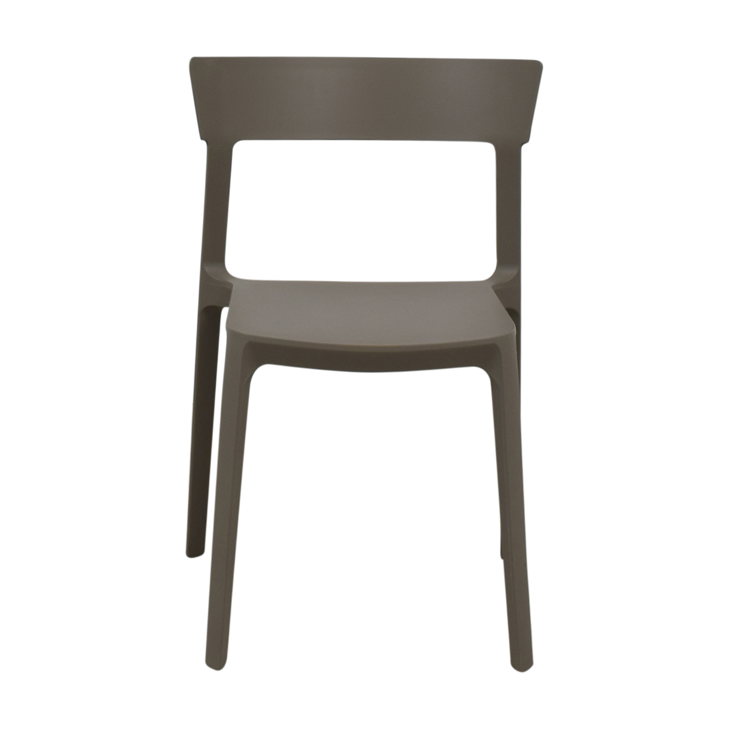 shop Calligaris Grey Skin Stacking Chair Calligaris Dining Chairs