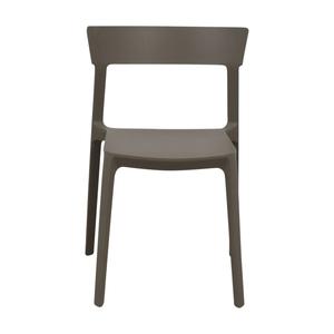 shop Calligaris Grey Skin Stacking Chair Calligaris Chairs