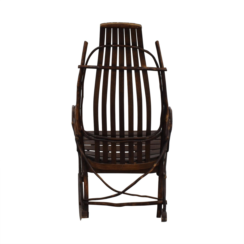 Amish Amish Wood Rocking Chair coupon